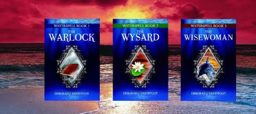 Waterspell trilogy by Deborah J Lightfoot
