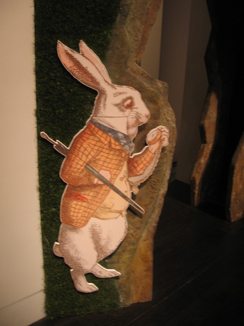 While rabbit