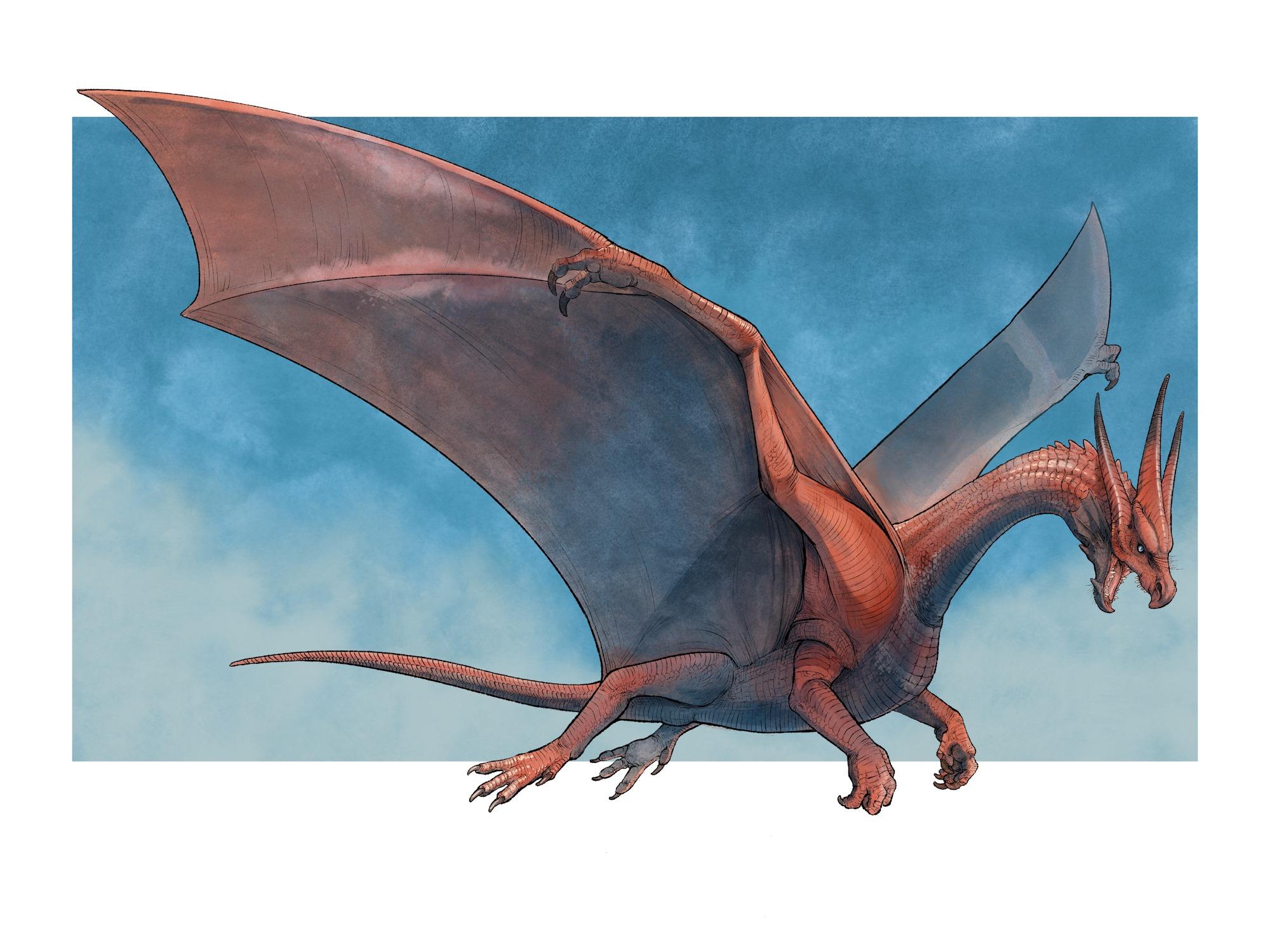 Fantasy Faction dragon